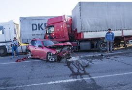 truck, accidents, California